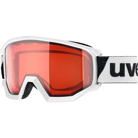 UVEX Athletic LGL Gogle, white/lasergold lite